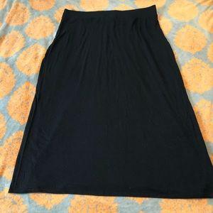 Sonoma Black Stretch Maxi Skirt